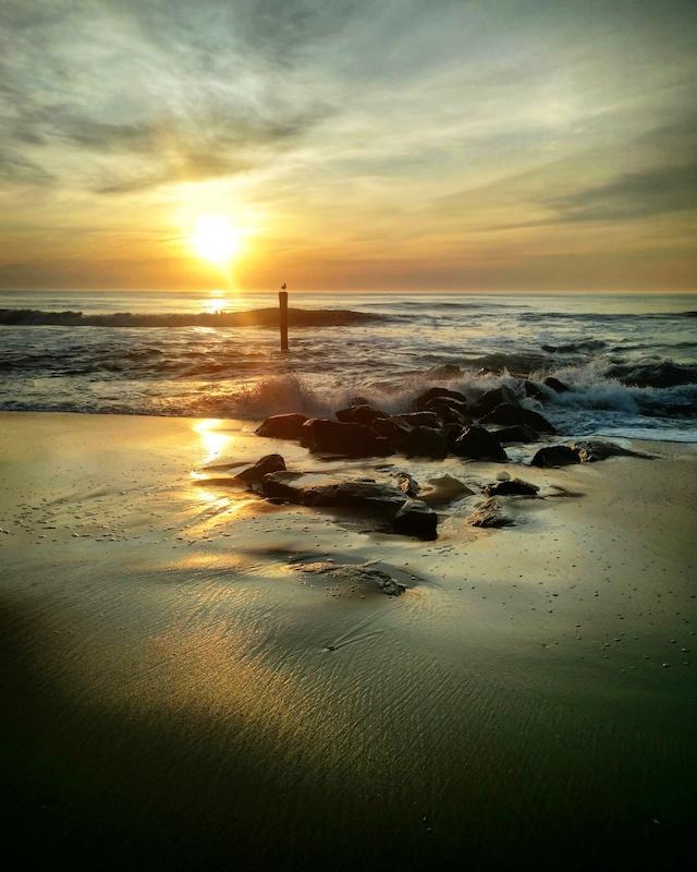 Ocean City beach and ocean photo by Claire Almand
